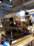 吧檯用的La Marzocco是意大利WBC(World Barista Championship)比賽指定咖啡機。