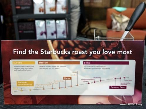 新加坡星巴克也推出不同烘焙深度的單品豆供客人選擇呢