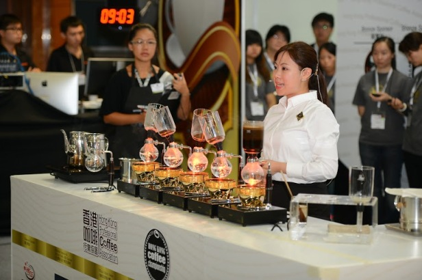 WSCHK2014 亞軍-UCC Coffee Shop黃雨寧 1