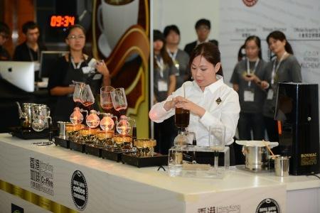 WSCHK2014 亞軍-UCC Coffee Shop黃雨寧 2
