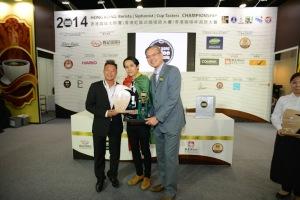 WSCHK2014 冠軍 獨立咖啡師范德俊 4