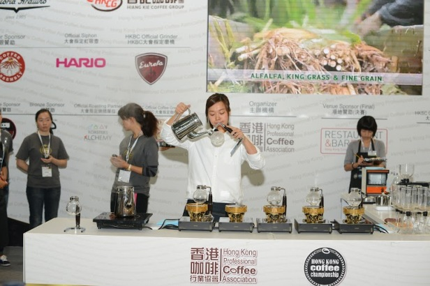 WSCHK2014 季軍-Barista caffa 周燕華 1
