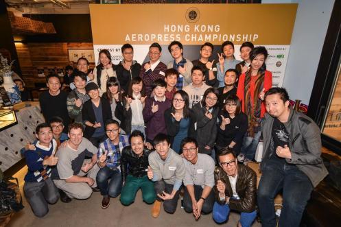 2015香港愛樂壓冠軍賽參賽者和評審團大合照